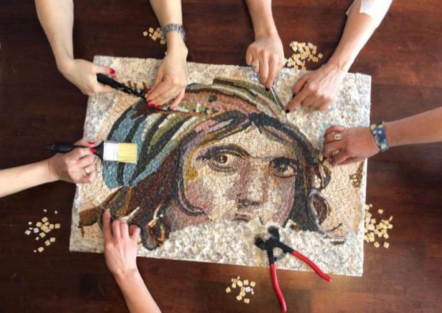Искусство мозаики турецких мастеров
