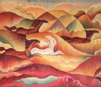 Выставка художницы Кулипы Жубаниязовой «СҰЛУ ӨНЕРДІҢ СЫРЫ»