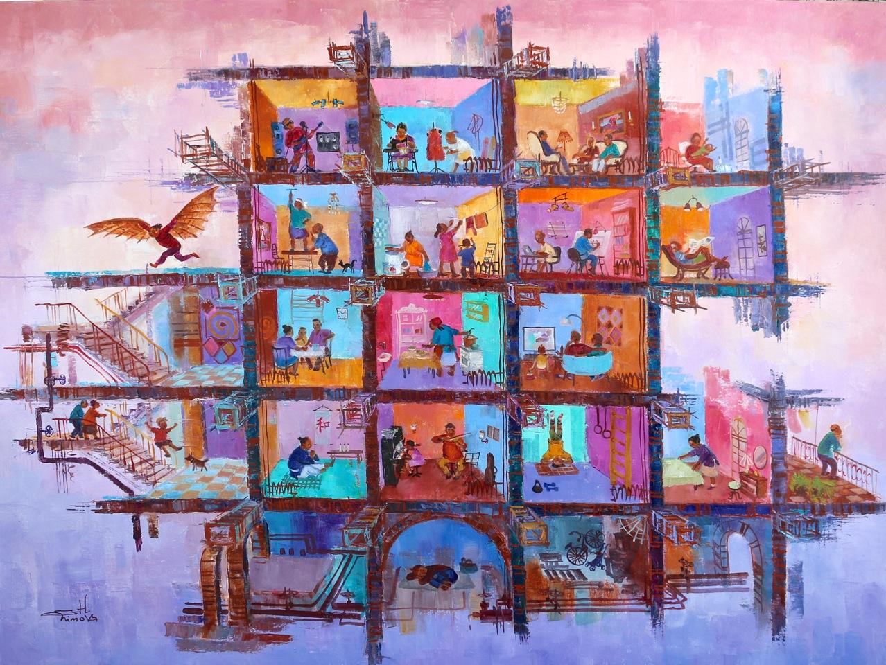Персональная выставка Халиды Шимовой